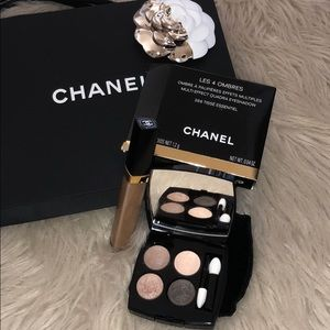 Chanel eyeshadow with gloss